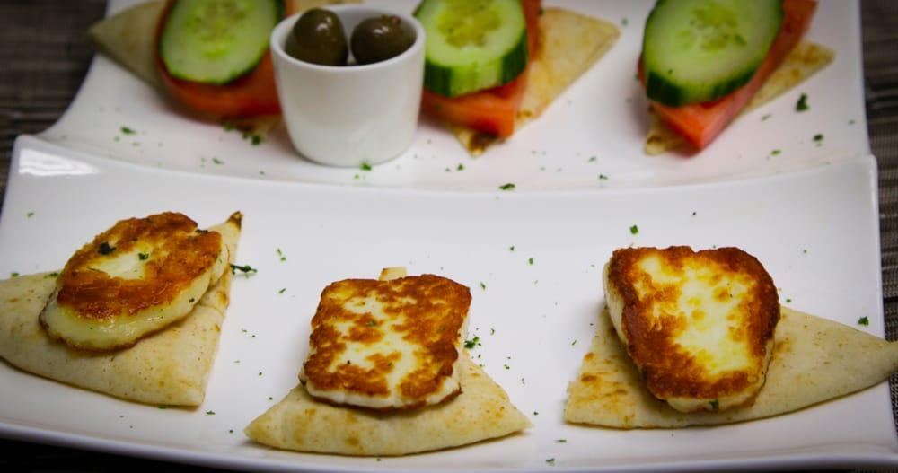 Halloumi cheese yelp for Alexandria mediterranean cuisine