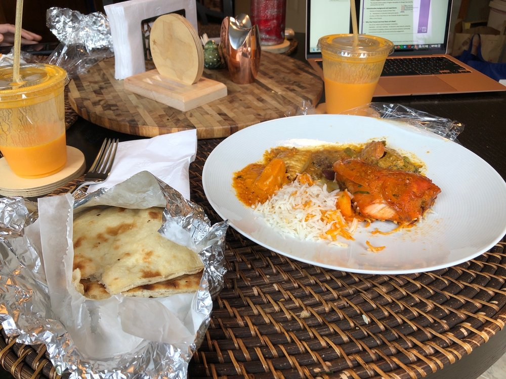 Food from Globe Indian Cuisine