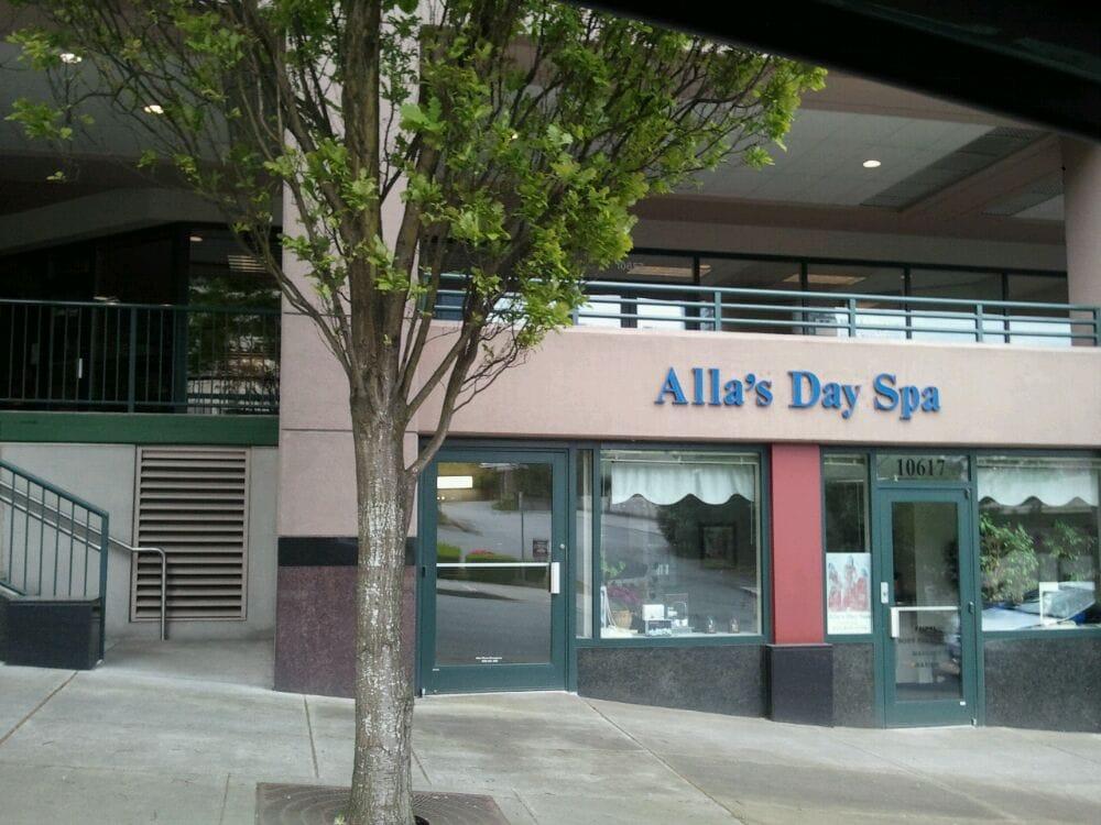 Alla s day spa st ngt dagspan 10617 ne 2nd st for 2nd street salon