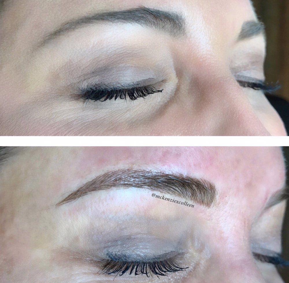 From Makeup To Perfectly Microbladed Brows We Added An Arch To