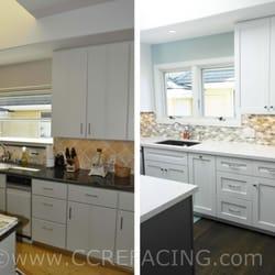 Photo Of Custom Cabinet Refacing Half Moon Bay Ca United States