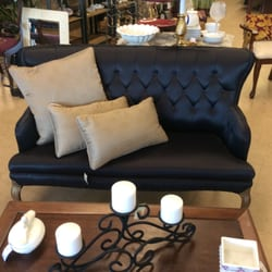Photo Of Consign Werks   Greenville, SC, United States. Navy Blue Vintage  Settee