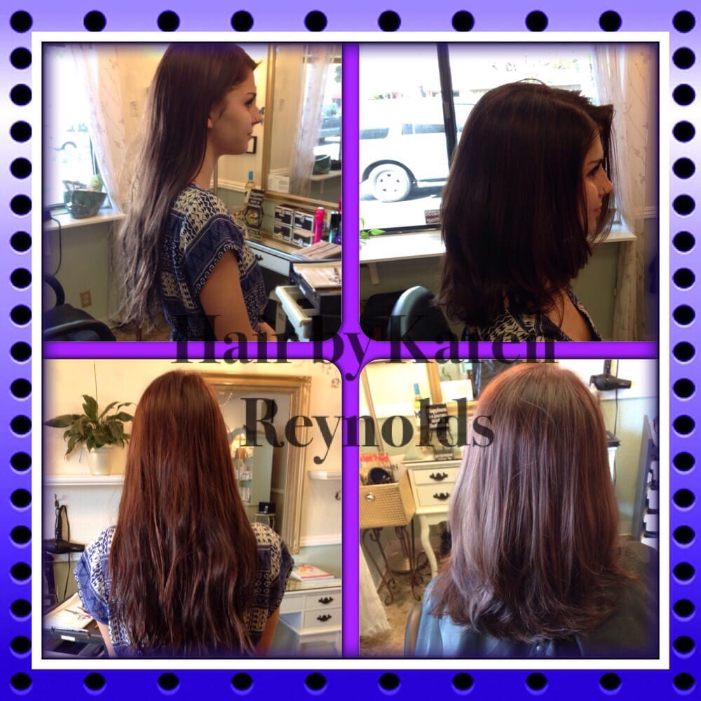 Beautiful Transition From Long To Short Hair By Karen Reynolds At My