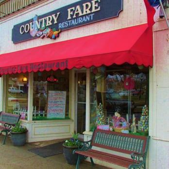 Country Fare Restaurant Falmouth Ma Menu