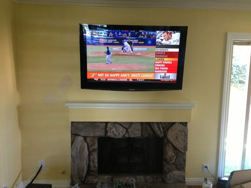 Tv Install Over Fireplace Yelp
