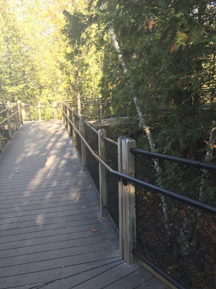 Ocqueoc Falls Bicentennial Pathway: Ocqueoc Falls Rd, Millersburg, MI