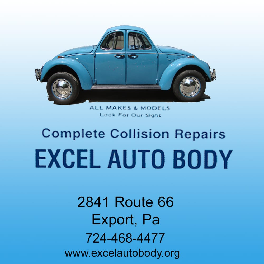 excel auto body - body shops - 2841 state rt 66, export, pa - phone