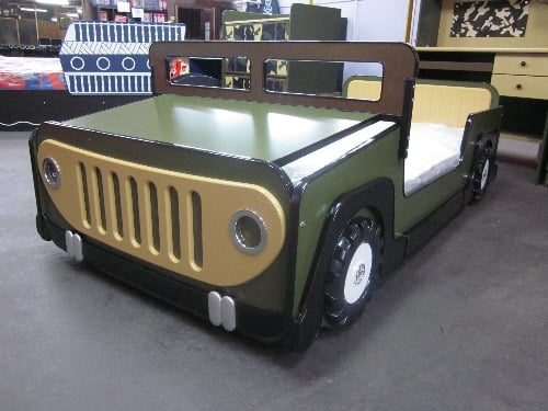 Boys Jungle Jeep Bed Car Beds Yelp