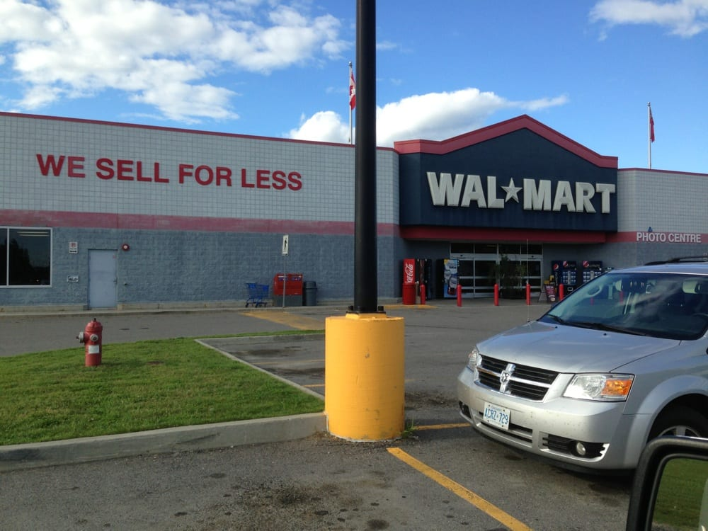 Walmart: 1250 Kings Highway, Fort Frances, ON