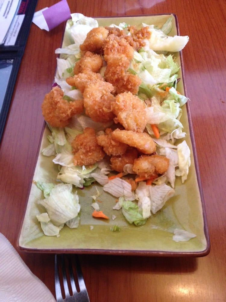 Crispy ginger shrimp yelp for Asia sushi bar and asian cuisine mashpee
