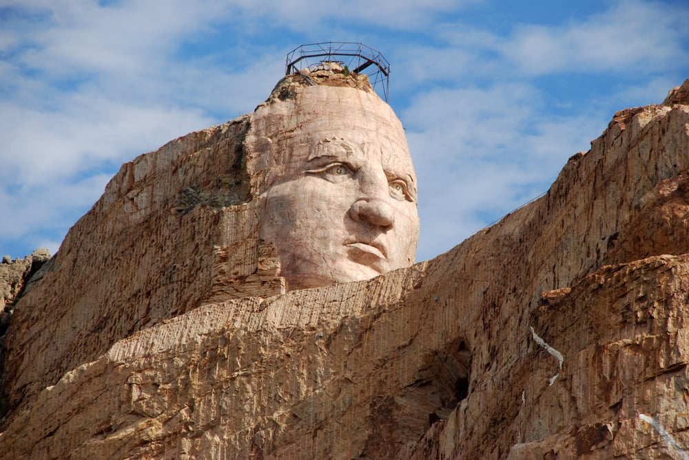 Custer (SD) United States  City pictures : Photo of Crazy Horse Memorial Custer, SD, United States. Korczak ...