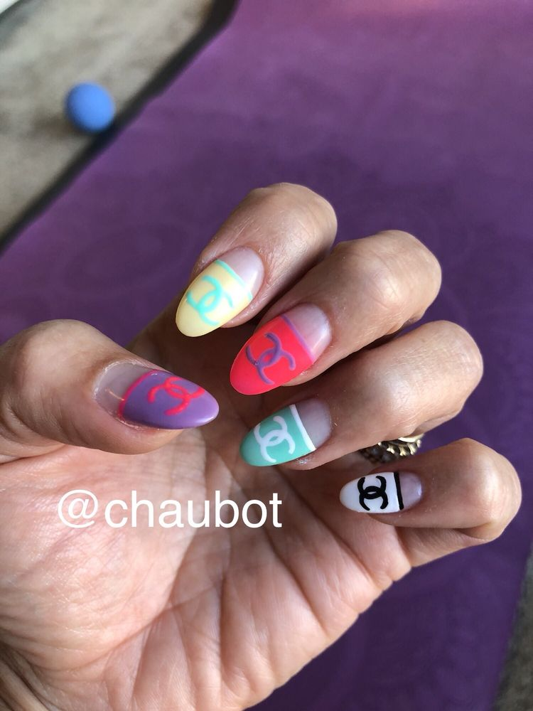 Chanel Nail Art Thank You Linh Tuyet Yelp