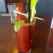 Photo of Crooked Goose Bistro - Victoria, BC, Canada. Bacon and Blue Cheese Caesar
