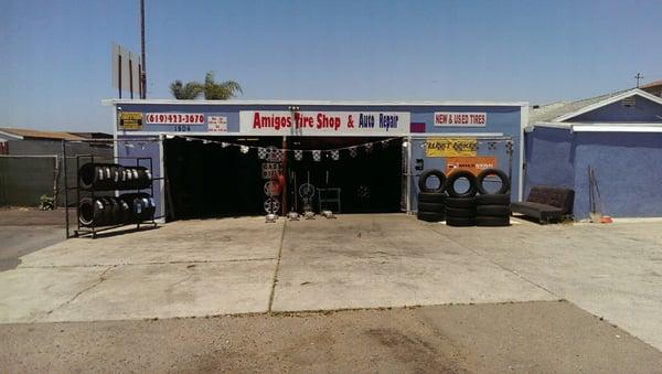 Amigos Tire Shop >> Amigo Tire Auto Repair 1504 Palm Ave San Diego Ca Tire
