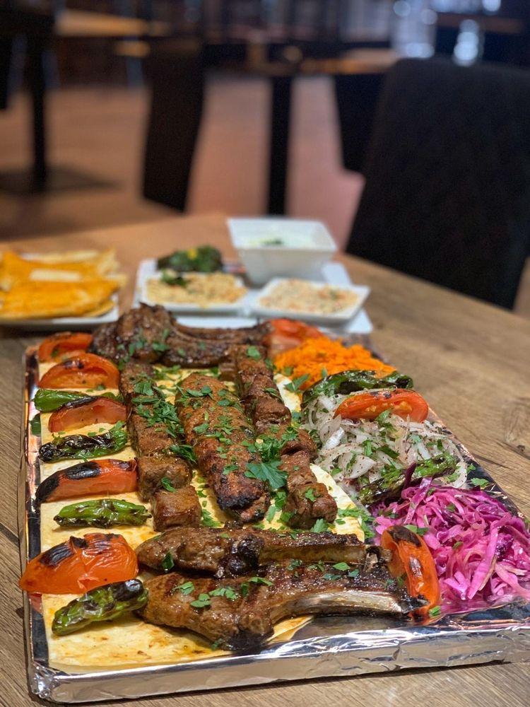 Pasha Mediterranean Grill: 715 N Ocean Blvd, Myrtle Beach, SC