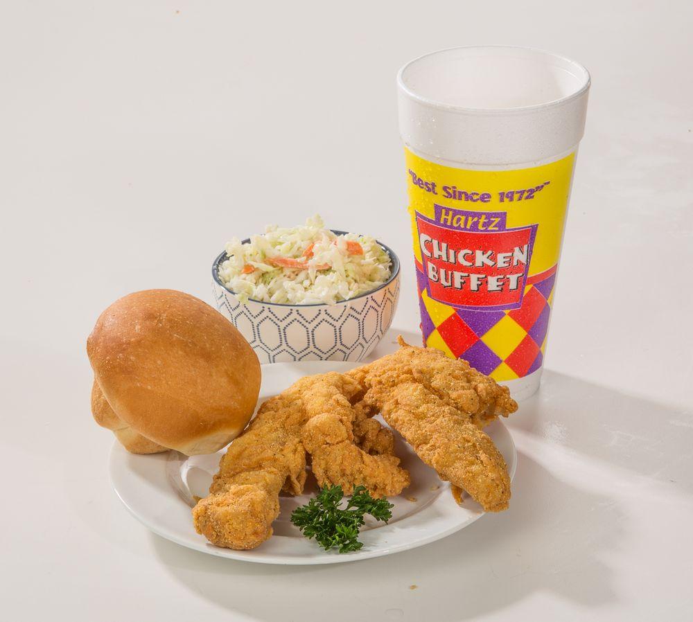 Hartz Chicken Buffet: 308 N Alexander Dr, Baytown, TX