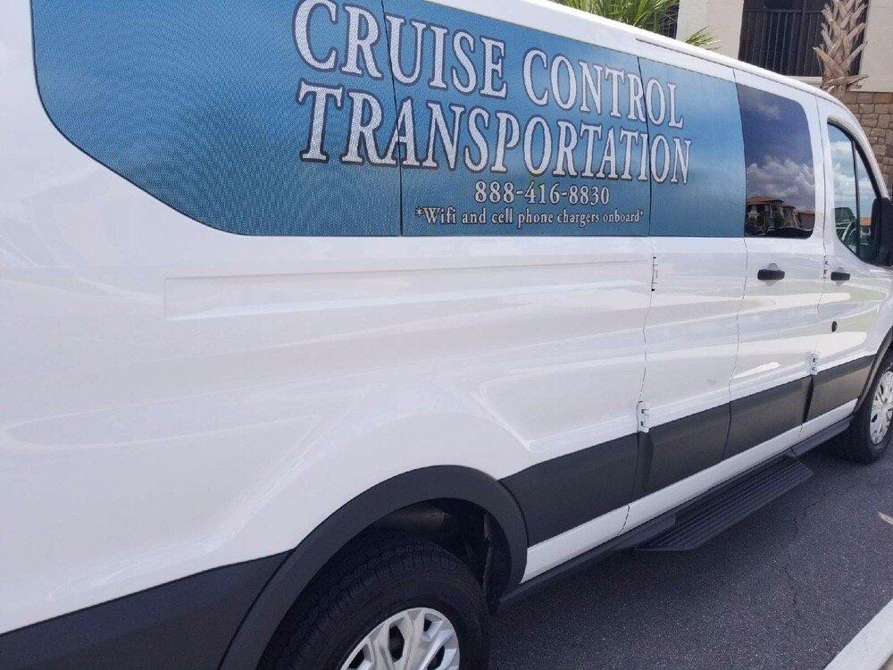 Cruise Control Transportation: 121 South Orange Ave Orlando, Orlando, FL