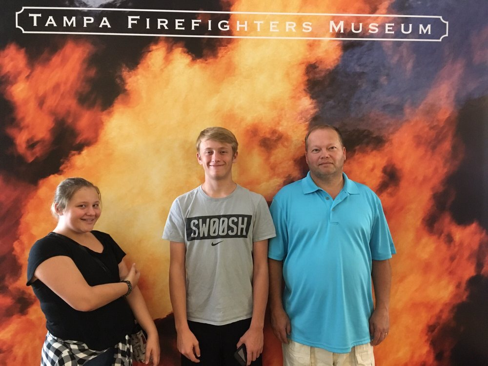 Tampa Firefighters Museum: 720 E Zack St, Tampa, FL