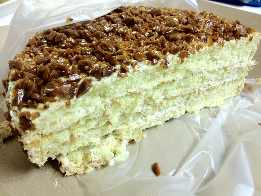Eastern Bakery Coffee Crunch Cake