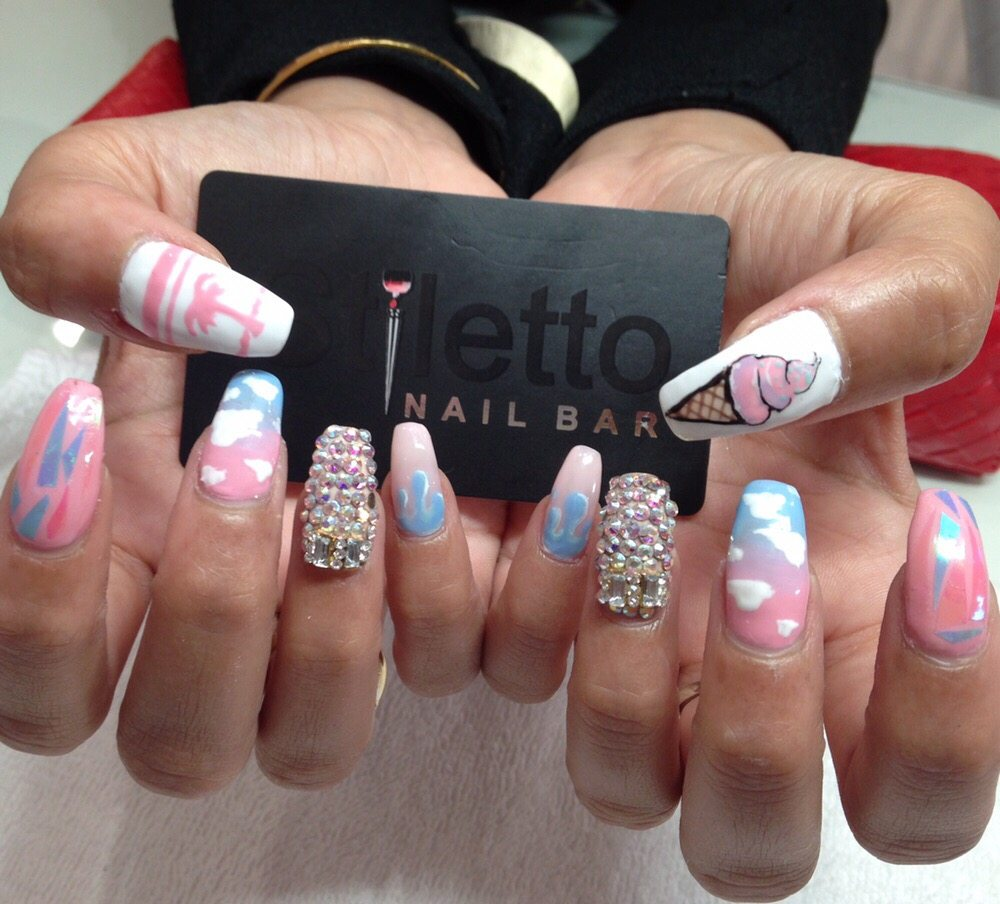 We specialize in nail art: hand drawn art, Swarovski crystals, 3D ...