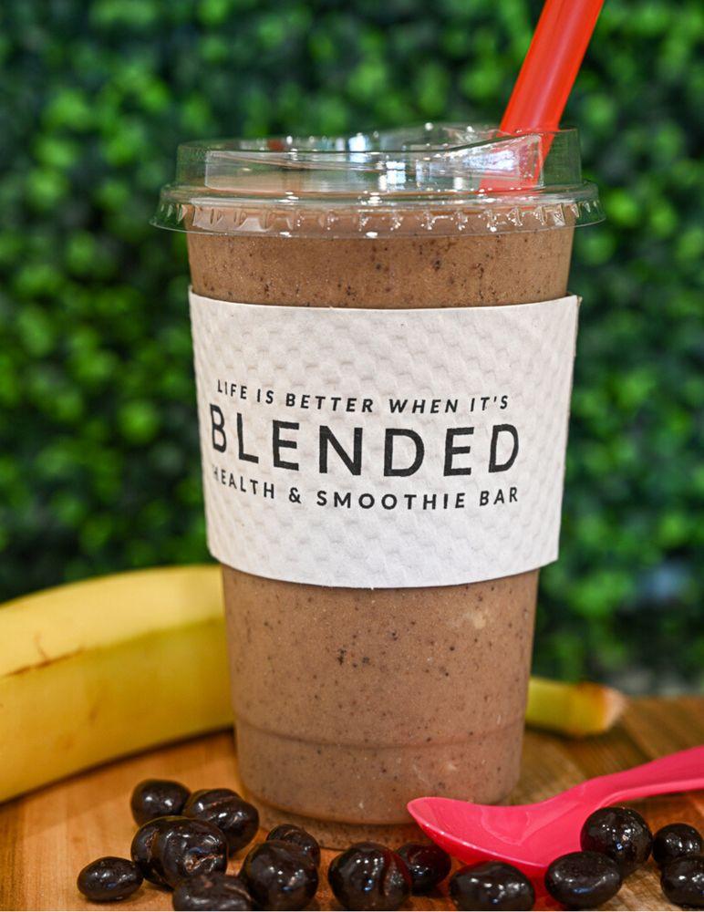 Blended Health & Smoothie Bar: 950 Harlem Ave, Glenview, IL