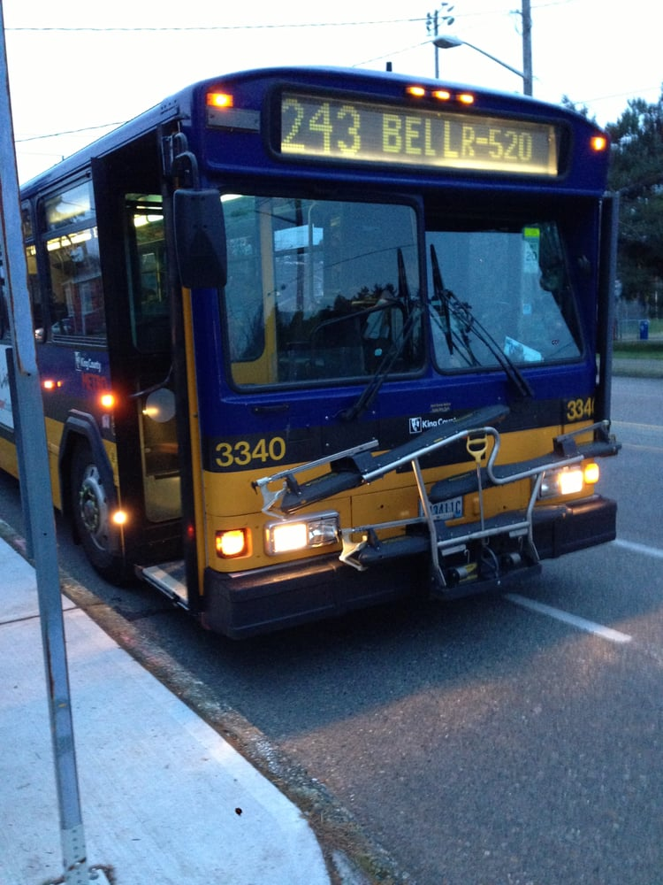 Metro Transit Route 243 Public Transportation Seattle