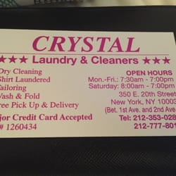 Crystal dry cleaners 48 reviews dry cleaning 350 e 20th st photo of crystal dry cleaners new york ny united states their business reheart Choice Image