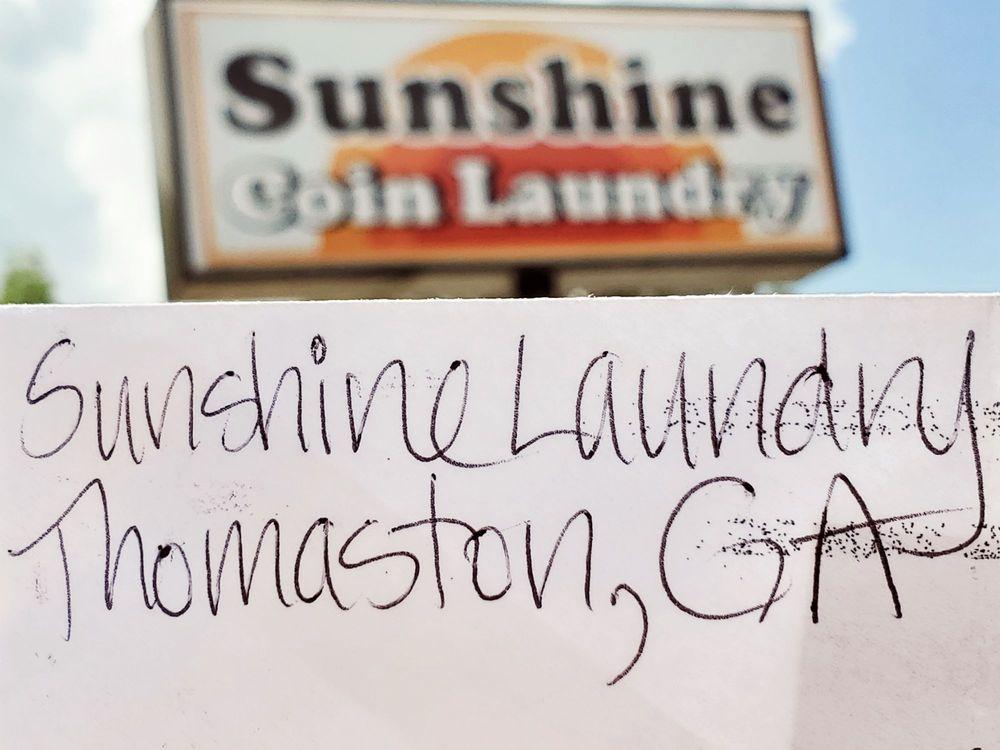 Sunshine Coin Laundry: 601 S Church St, Thomaston, GA