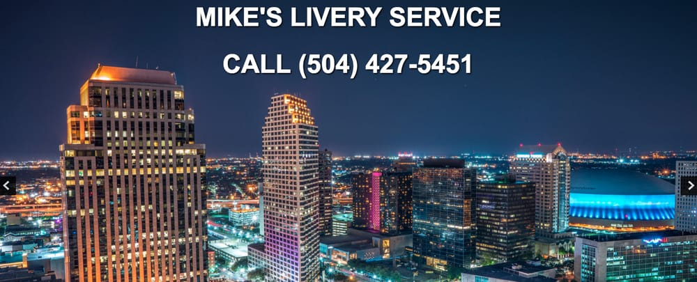 Mike's Livery Service: 1201 W Esplanade Ave, Kenner, LA