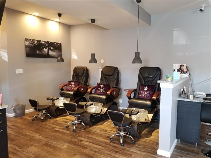 Vichy Salon & Spa: 17 E Grand Ave, Fox Lake, IL