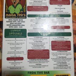 Mama Tios Mexican Restaurant