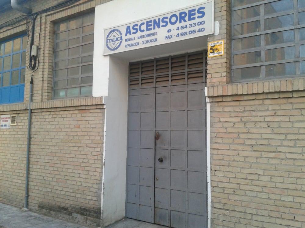 Ascensores it lica contratas calle lienzo 5 distrito for Ascensores carbonell telefono averias