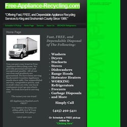 Yelp Reviews for Free-Appliance-Recycling - (New) Recycling Center
