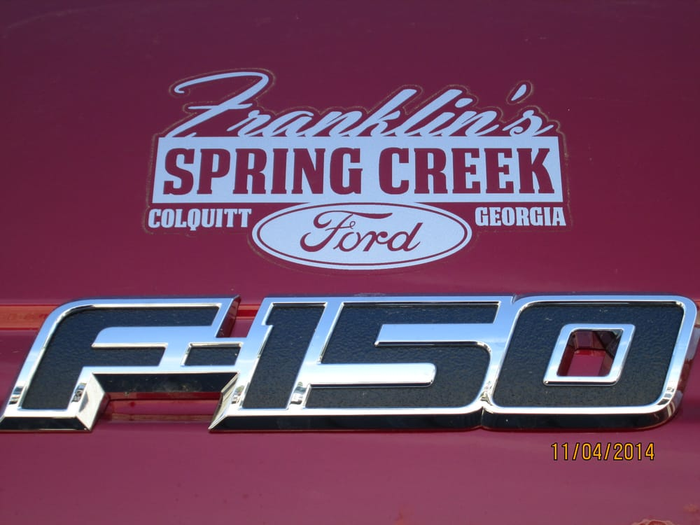 Franklin's Spring Creek Ford: 228 W Crawford St, Colquitt, GA
