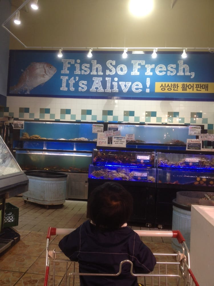 Fish so fresh, it's alive!!!!! - Yelp