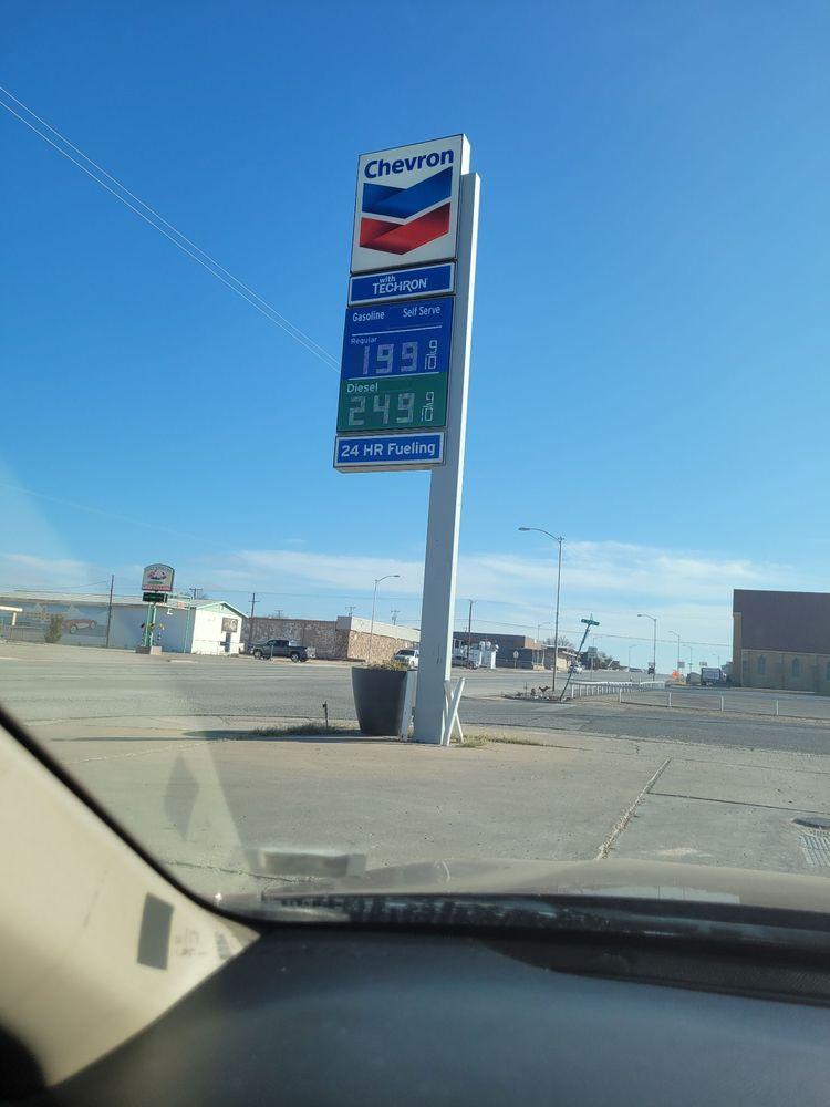 Chevron E: Highway 329, Crane, TX