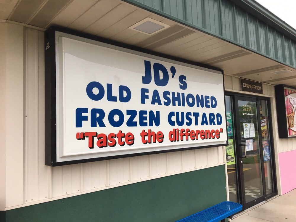 JD's Old Fashioned Frozen Custard: 322 Union Rd, Englewood, OH