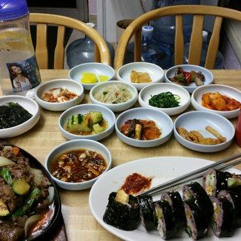 Photo Of Kim S Korean Restaurant Spokane Wa United States Dinner For One
