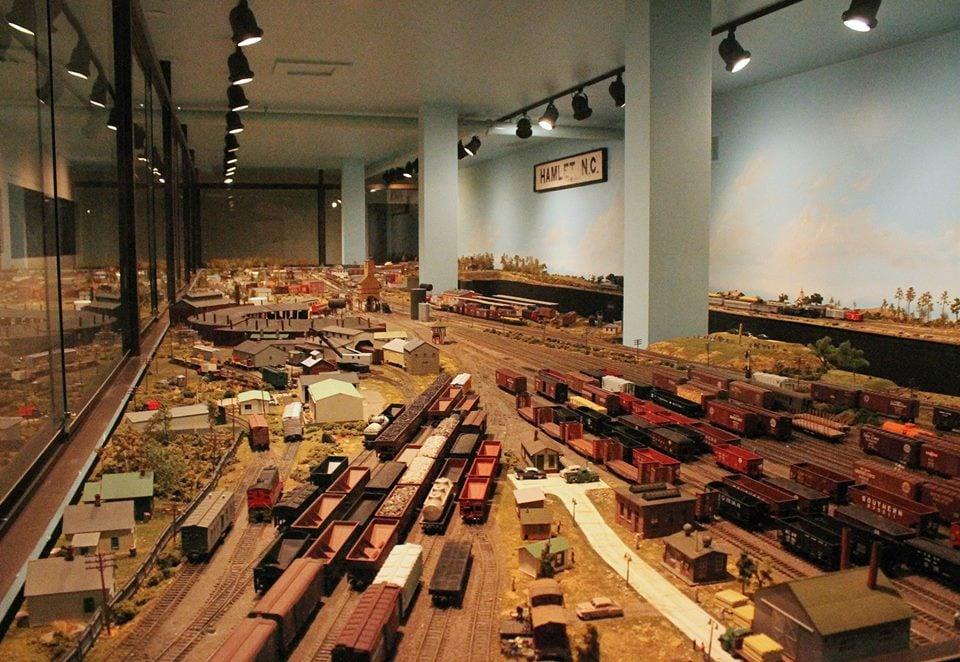 Hamlet Depot and Museums: 2 Main St, Hamlet, NC