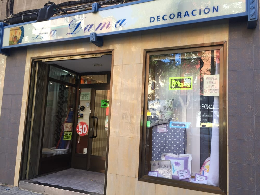 La dama decoraci n del hogar calle mos n andr s for Decoracion hogar zaragoza