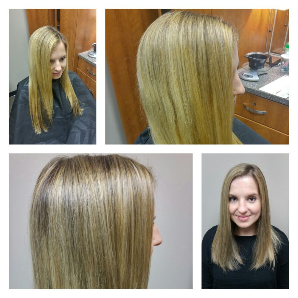 lob haircut before and after color correction and textured quot lob quot haircut before and