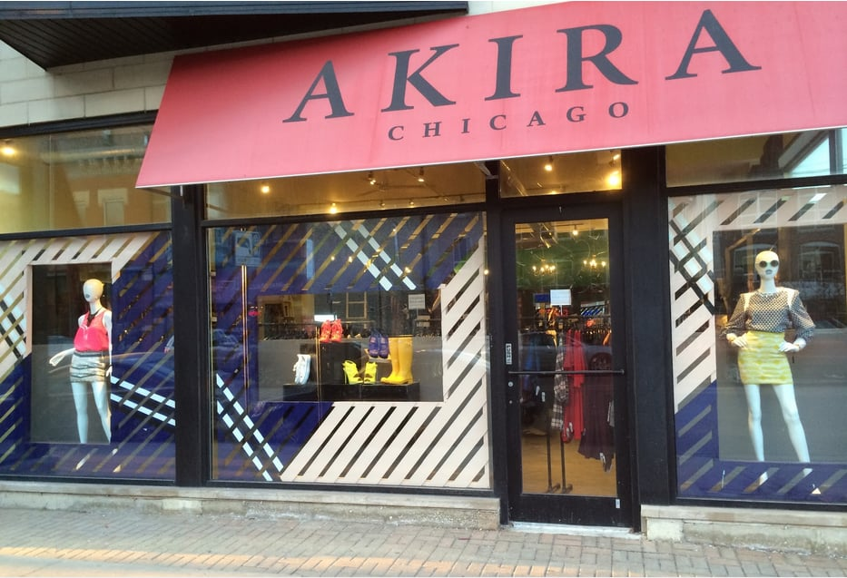 10 years ago AKIRA grew from the desire to spread a high-end boutique experience to Chicago's neighb.
