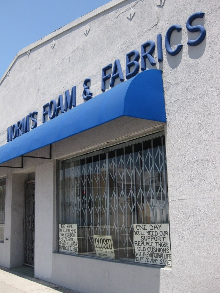 Norm S Foam Amp Fabric Center 58 Reviews Fabric Stores