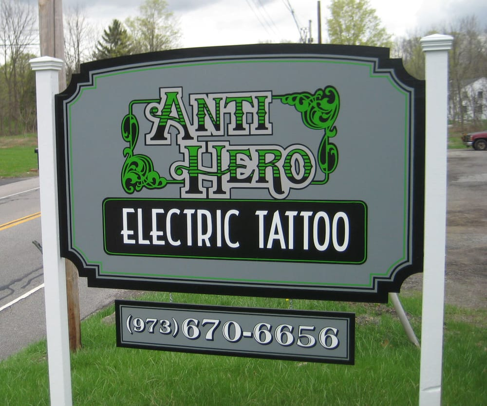 Anti Hero Electric Tattoo: 66 US Hwy 206, Andover, NJ
