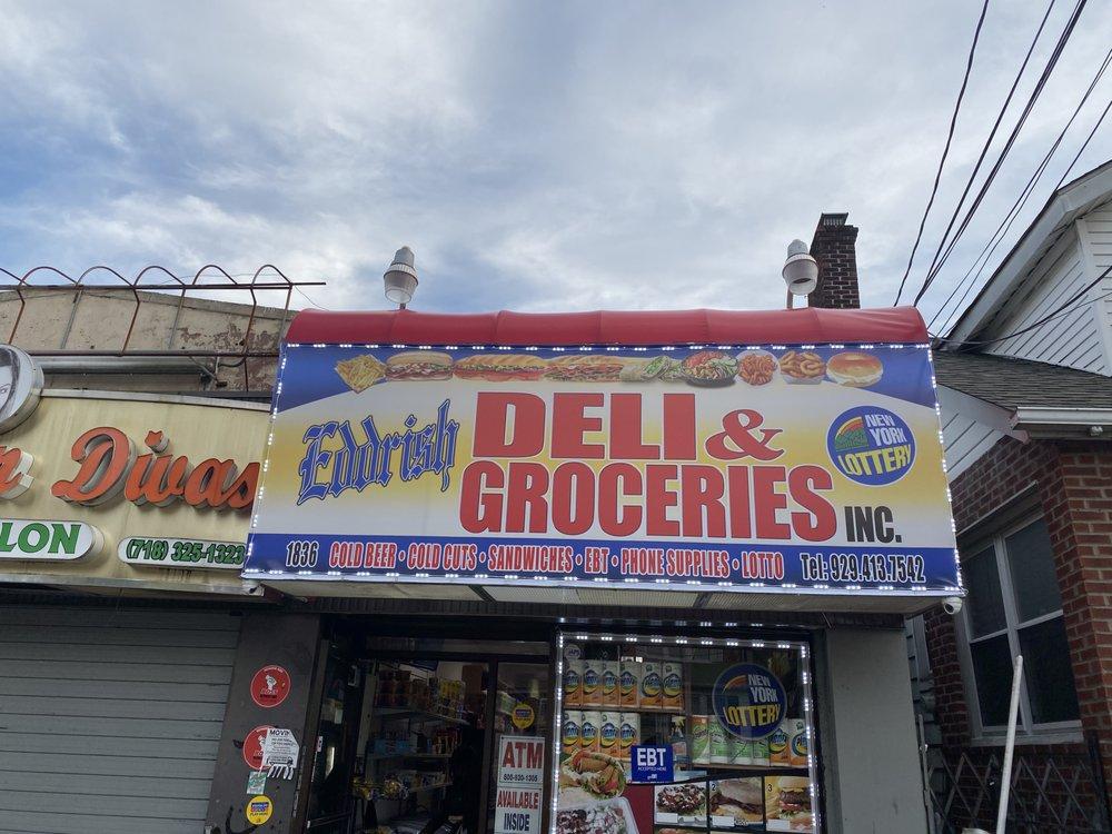 Eddrish Deli & Groceries: 1836 Nereid Ave, The Bronx, NY