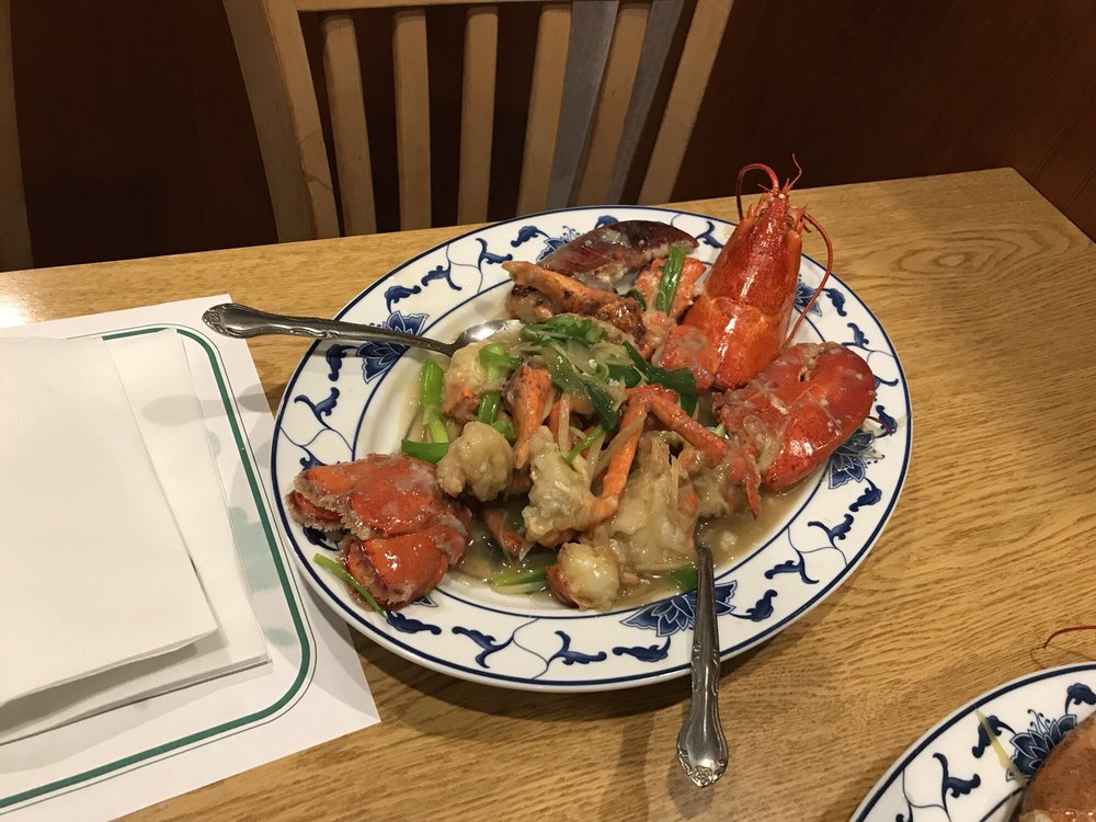 Lobster with ginger my favorite yelp for Hunan gardens chinese restaurant