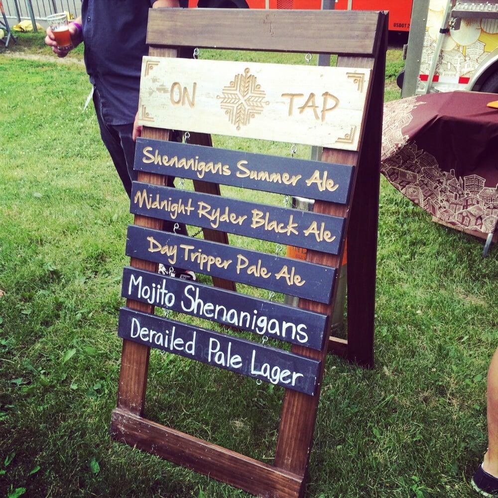 Beer Dabbler At Pride Fest