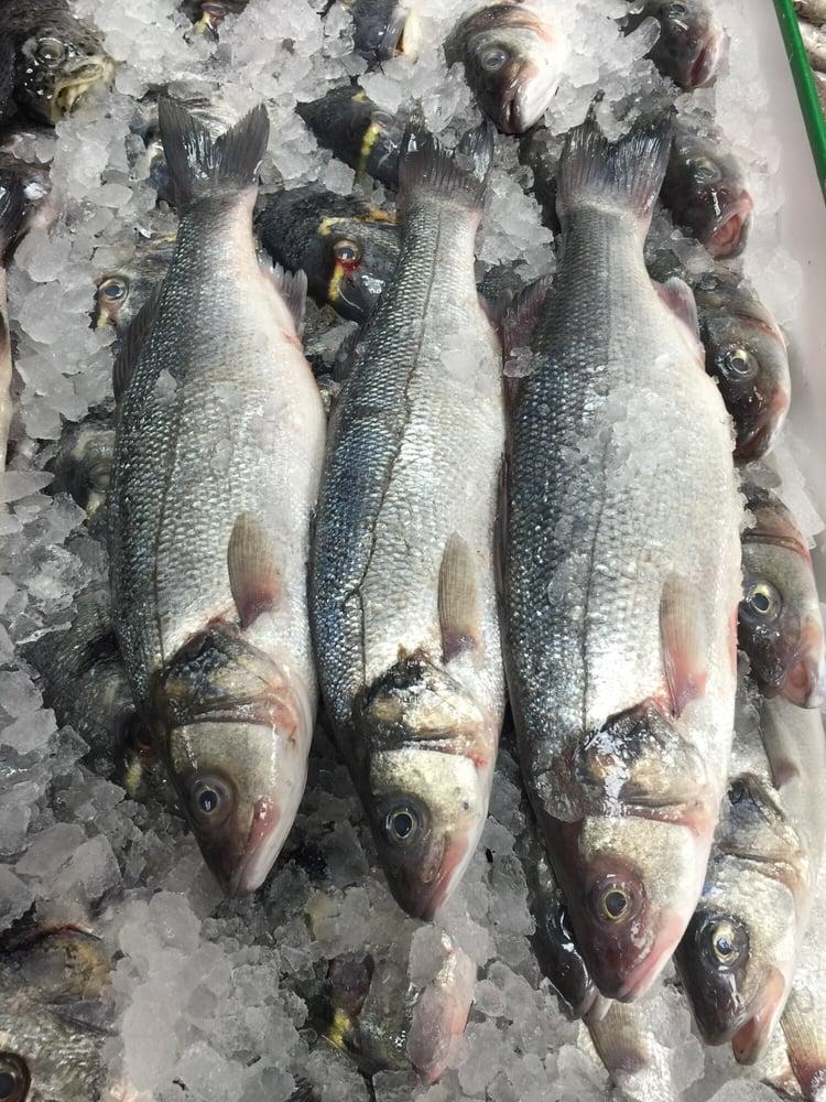 Ok fish market 220 photos seafood markets 235 for Fish market paterson nj