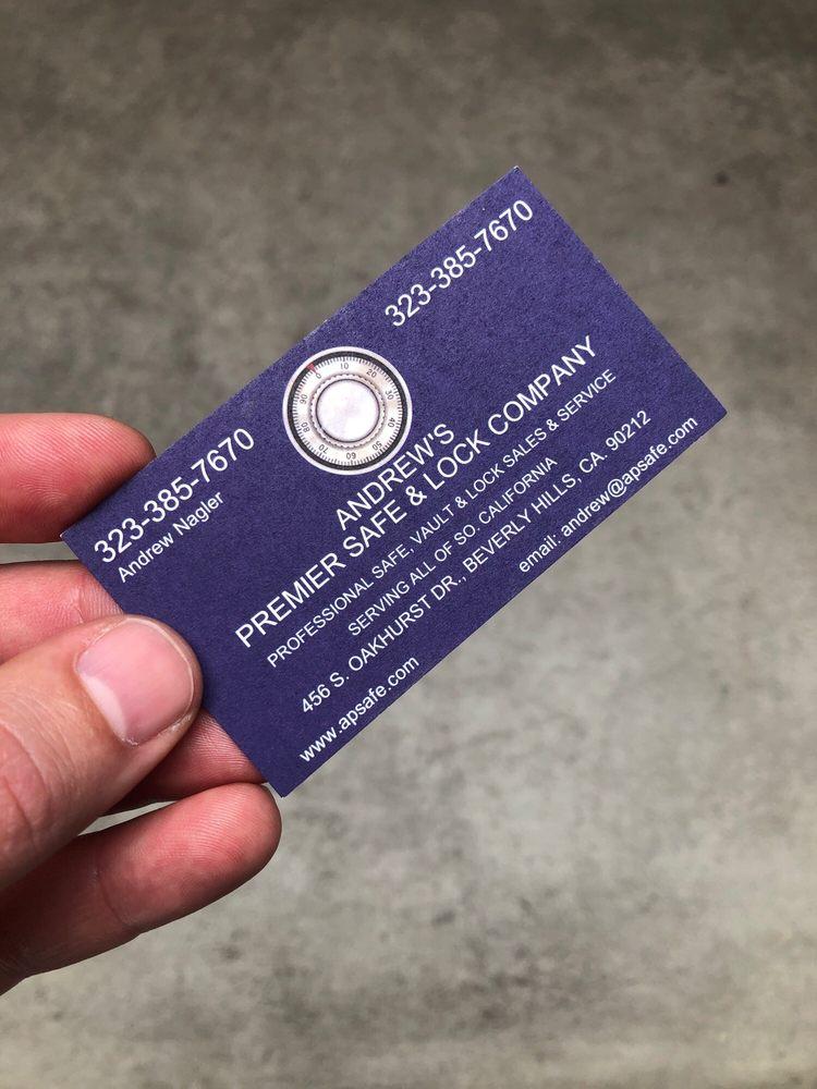 Andrew's Premier Safe & Lock Company: Los Angeles, CA