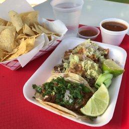 photo of backyard taco mesa az united states enjoying a carne